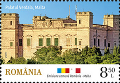 [Palaces - Joint Issue with Malta, type KYL]