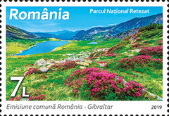 [Natural Reserves - Joint Issue with Gibraltar, type KYP]