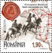 [EUROPA Stamps - Ancient Postal Routes, type LBI]