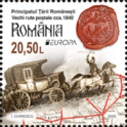 [EUROPA Stamps - Ancient Postal Routes, Typ LBJ]