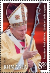 [The 100th Anniversary of the Birth of Pope John Paul II, 1920-2005, type LBT]