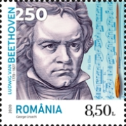 [The 250th Anniversary of the Birth of Ludwig van Beethoven, 1770-1827, type LDA]