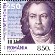 [The 250th Anniversary of the Birth of Ludwig van Beethoven, 1770-1827, Typ LDB]