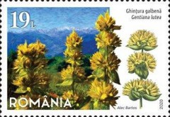[Flora - Protected Flowers of Romania, Typ LDN]