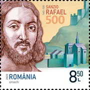 [The 500th Anniversary of the Death of Raphael Sanzio, 1483-1520, type LDV]
