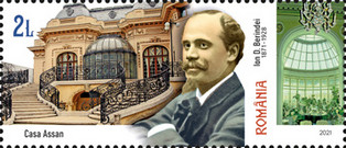 [The 150th Anniversary of the Birth of Ion D. Berindei, 1871-1928, Typ LIL]