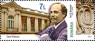 [The 150th Anniversary of the Birth of Ion D. Berindei, 1871-1928, Typ LIM]