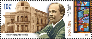 [The 150th Anniversary of the Birth of Ion D. Berindei, 1871-1928, Typ LIO]