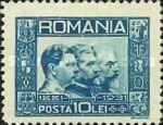 [The 50th Anniversary of the Kingdom Romania, Typ PS]