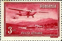 [Airmail - Planes over Landscapes, type QM]