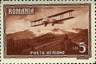 [Airmail - Planes over Landscapes, type QN]