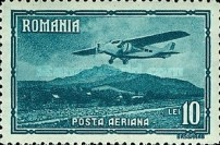 [Airmail - Planes over Landscapes, type QO]