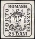 [The 75th Anniversary of the Romanian Postage Stamps, type RO]