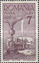 [The 70th Anniversary of the Rumanian Railroads, type XT1]