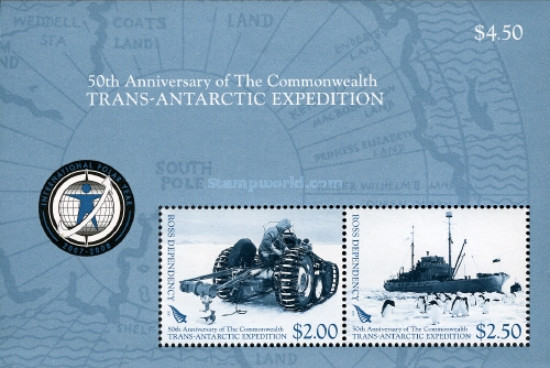 [The 50th Anniversary of The Commonwealth Trans-Antarctic Expedition, type ]