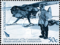 [The 50th Anniversary of The Commonwealth Trans-Antarctic Expedition, type CC]