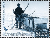 [The 50th Anniversary of The Commonwealth Trans-Antarctic Expedition, type CD]