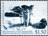 [The 50th Anniversary of The Commonwealth Trans-Antarctic Expedition, type CE]