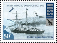[The 100th Anniversary of the British Antarctic Expedition of 1907-1909, Typ CH]