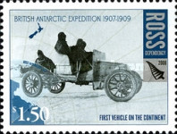 [The 100th Anniversary of the British Antarctic Expedition of 1907-1909, Typ CJ]