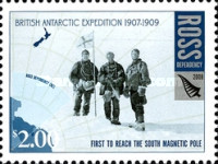 [The 100th Anniversary of the British Antarctic Expedition of 1907-1909, Typ CK]