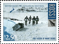 [The 100th Anniversary of the British Antarctic Expedition of 1907-1909, Typ CL]
