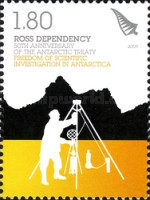 [The 50th Anniversary of the Antarctic Treaty, type CO]