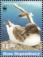 [Sea Birds with WWF Logo, Typ XXV]