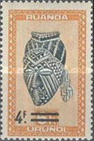 [Issues of 1948 Surcharged, type AU1]