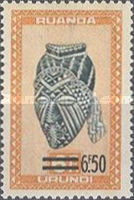 [Issues of 1948 Surcharged, type AU2]