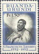 [The 400th Anniversary of the Death of St. Francis Xavier, 1506-1552, Typ AV]