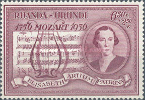 [The 200th Anniversary of the Birth of Wolfgang Amadeus Mozart, 1756-1791, type BU]
