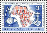 [The 10th Anniversary of The Commission for Technical Co-Operation in Africa, type CG]