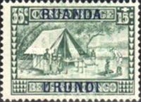 [Belgian Congo Postage Stamps Overprinted, Tipo F2]