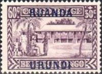 [Belgian Congo Postage Stamps Overprinted, Tipo F3]