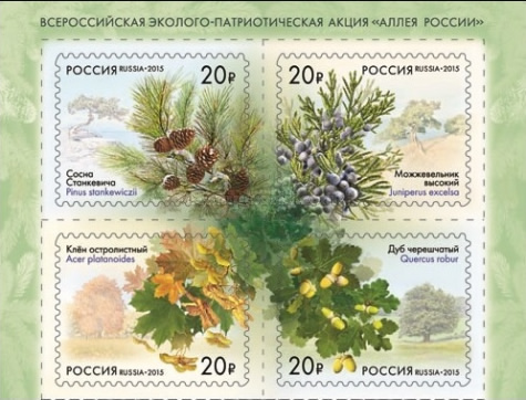 [Flora of Russia - Self Adhesive Stamps, type ]