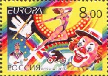 [EUROPA Stamp - The Circus, Typ AFN]
