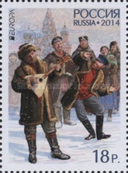 [EUROPA Stamps - Musical Instruments, Typ BVB]