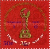[Football - FIFA Confederations Cup Issue Overprinted, Typ CJE1]