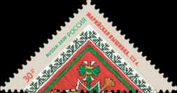 [Decorative Arts of Russia - Embroidery, type CZX]