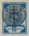 [Latvia Postage Stamps of 1919 Overprinted, Typ C2]