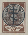 [Latvia Postage Stamps of 1919 Overprinted, Typ C5]