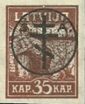 [Latvia Postage Stamps of 1919 Overprinted, Typ D2]