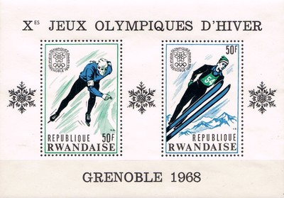 [Winter Olympic Games - Grenoble, France, Typ ]