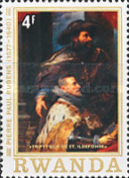 [The 400th Anniversary of the Birth of Peter Paul Rubens, 1577-1640, Typ AAW]