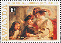 [The 400th Anniversary of the Birth of Peter Paul Rubens, 1577-1640, Typ AAX]
