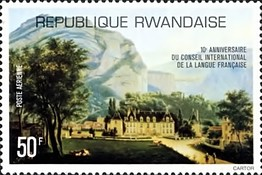 [Airmail - The 10th Anniversary of International French Language Council, Typ ABA]