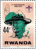 [The 10th Anniversary of Rwanda Scout Association, Typ ACE]