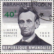 [The 100th Anniversary of the Death of Abraham Lincoln, 1809-1965, Typ AD5]