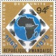 [The 15th Anniversary of Organization of African Unity, Typ ADW]
